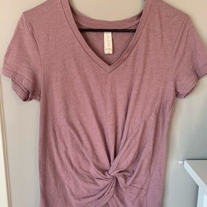 pretty t-shirt with knot from Altar'd State